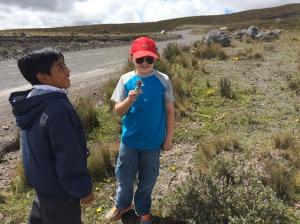 Seth and Ernesto on Cotopoxi